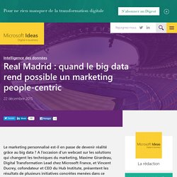 Real Madrid : quand le big data rend possible un marketing people-centric