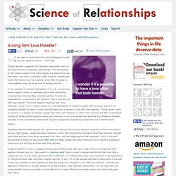 Science of Relationships -