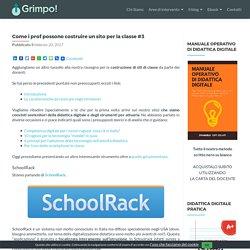 Come i prof possono costruire un sito per la classe #3 - GRIMPO!