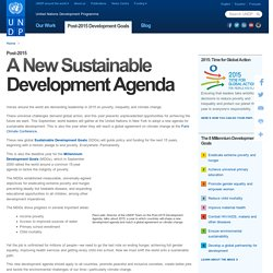 Sustainable Development Goals from UNDP