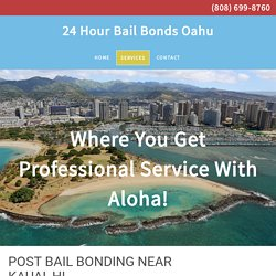 Post Bail Bonds in Honolulu, HI
