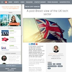 A post-Brexit view of the UK tech sector