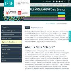 Post Graduate Diploma in Data Science