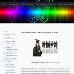 Post Graduation Courses