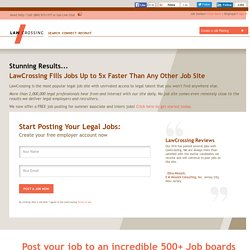 Post Legal Jobs on 1,000+ Job Boards