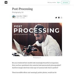Post-Processing - Amelia Mari - Medium
