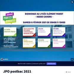 JPO postbac 2021 by VIEIRA DE RESENDE on Genially