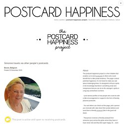 postcard happiness project / postcard happiness