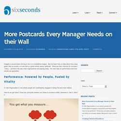 More Postcards Every Manager Needs on their Wall -Six Seconds
