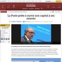 La Poste prête à ouvrir son capital à ses salariés