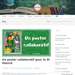 Un poster collaboratif pour la St Patrick - Chez Chris