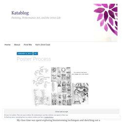 Poster Process – Katablog