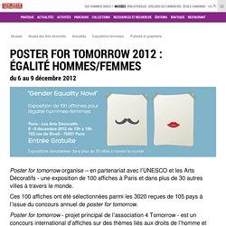 Poster for Tomorrow 2012 : égalité hommes/femmes
