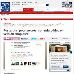 Posterous, pour se créer son micro-blog en version simplifiée
