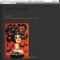 Polish Movie Posters Gallery - Affiches de Films Polonaises
