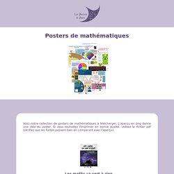 Posters de mathématiques