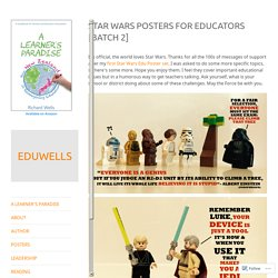 Star Wars Posters for Educators [Batch 2] – EDUWELLS