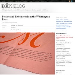 The Whittington Press