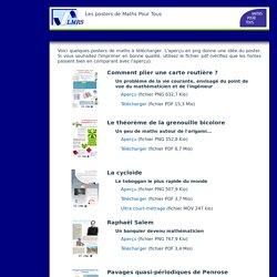 Posters - Maths Pour Tous