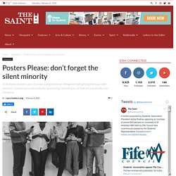 Posters Please: don't forget the silent minority