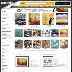 Art Prints Barewalls