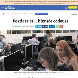 Postiers et... bientôt codeurs, Transformation digitale