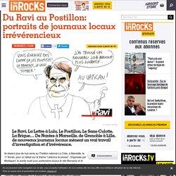 Du Ravi au Postillon: portraits de journaux locaux irrévérencieux