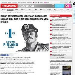 Tom of Finland -postimerkit noteerattiin maailmalla