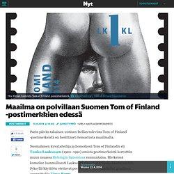 Maailma on polvillaan Suomen Tom of Finland -postimerkkien edessä - Postimerkit