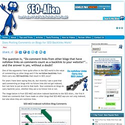 Does Posting Comments on Blogs for SEO Backlinks Work? - SEO Alien