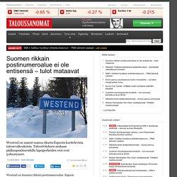 Suomen rikkain postinumeroalue ei ole entisensä