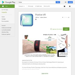 Postive VR - App Android su Google Play