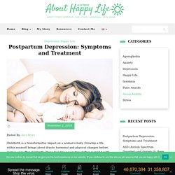 Postpartum Depression: Symptoms and Treatment