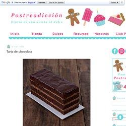 Postreadicción: Galletas decoradas, cupcakes y cakepops: Tarta de chocolate