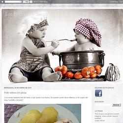 Los Postres de Elena: Pollo relleno con peras