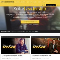 Entre Leadership Podcast