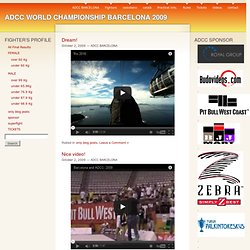 only blog posts « ADCC WORLD CHAMPIONSHIP BARCELONA 2009