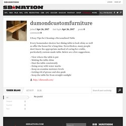 dumondcustomfurniture - Posts -