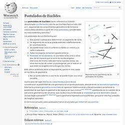 Postulados de Euclides