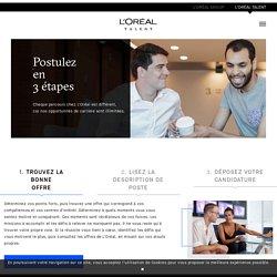 Postuler en 3 étapes - L'Oréal Recrutement