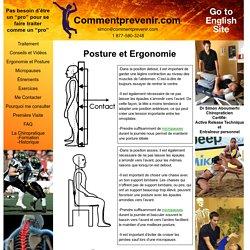 Posture et Ergonomie