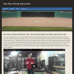 Posture Swing 1 - East Bay Hitting Instruction