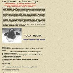 Postures de base du Yoga