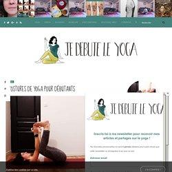 5 postures de yoga pour débutants