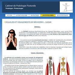 La posturologie, soigner le mal de dos - essonne 91, SADAM, machoire