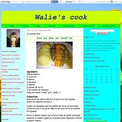 Pot au feu au cook'in - Walie's cook