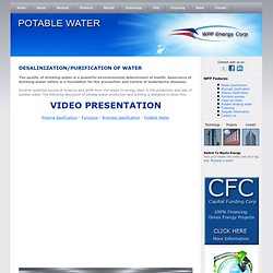 Potable Drinking water quality