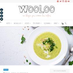 Potage-repas au zucchini - Wooloo