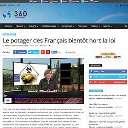 Le potager des Français bientôt hors la loi