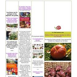 Potager, livre sur le potager, les légumes du jardin